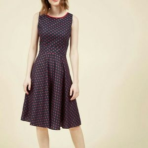 Heart on your Heels midi dress from Modcloth